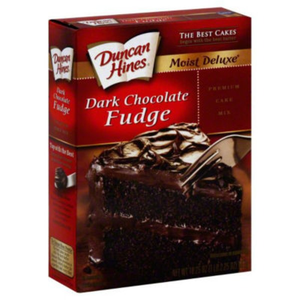 Duncan Hines Classic Dark Chocolate Fudge Cake Mix
