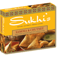 Sukhi's Potato Samosa With Cilantro Chutney