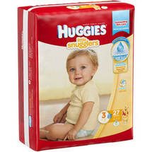 Huggies Little Snugglers Diapers Size 3