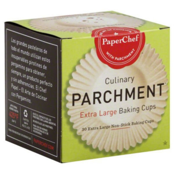 PaperChef Nonstick Parchment Extra Large Baking Cups