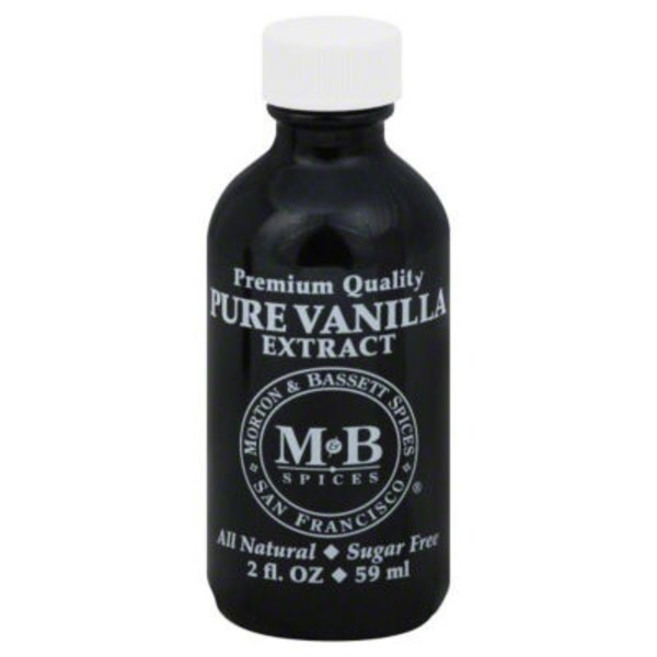 Morton & Bassett Spices Vanilla Extract, Pure