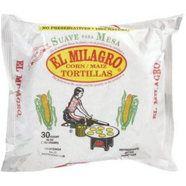 El Milagro Yellow Corn Tortillas