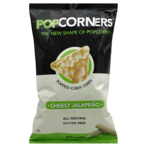 PopCorners Popped Corn Chips Cheesy Jalapeno