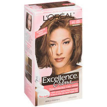 L'Oreal Excellence Creme Triple Protection Light Golden Brown Warmer 6G Hair Color