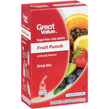 Great Value Fruit Punch Drink Mix