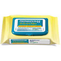 Preparation H Medicated Wipes Refill