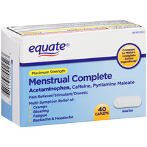 Equate Maximum Strength Menstrual Complete Caplets