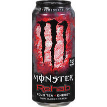 Monster Rehab Rojo Tea & Energy Energy Drink