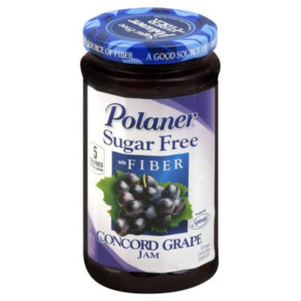 Polaner Concord Grape Sugar Free with Fiber Jam