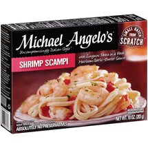 Michael Angelo's Shrimp Scampi Food
