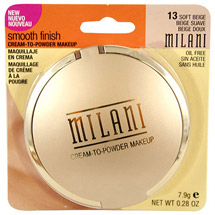 Milani Smooth Finish Cream-to-Powder Makeup 13 Soft Beige