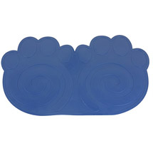 WorldPet Dog Rub Placemat Blue