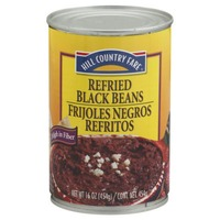 Hill Country Fare Refried Black Beans