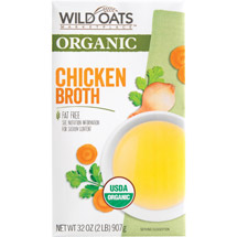 Wild Oats Marketplace Organic Chicken Broth