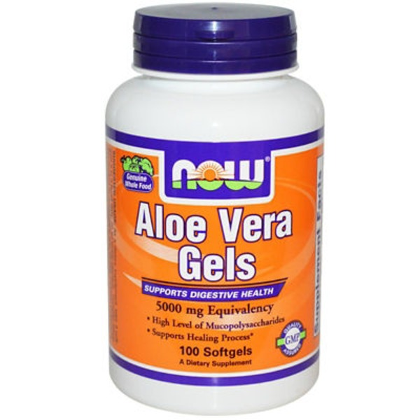 Now Aloe Vera 5000 Mg Softgels