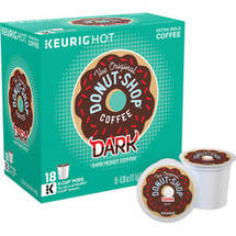The Original Donut Shop Coffee Dark Roast Regular K-Cups 18 ct