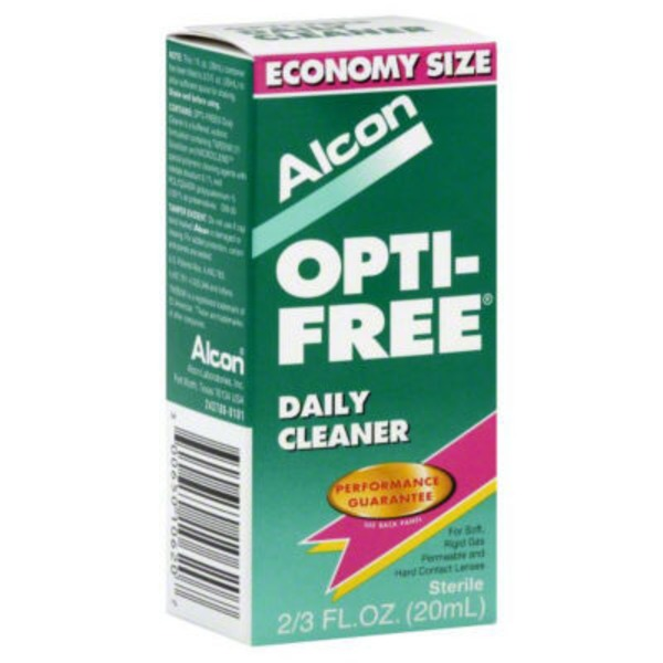 Opti-Free Daily Cleaner Contact Lenses