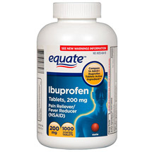 Equate Ibuprofen 200mg Tablets