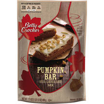Betty Crocker Pumpkin Bar Mix