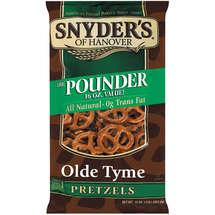Snyders Of Hanover Olde Tyme The Pounder Pretzels