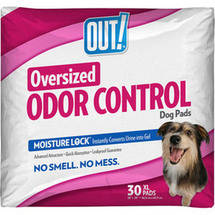 OUT! Oversized Odor Control Training Pads