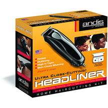Andis Headliner 11 Piece Home Hair Cutting Kit ea