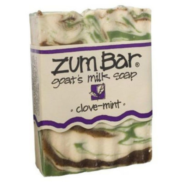 Indigo Wild/Zum Goats Milk Bar Soap Clove Mint