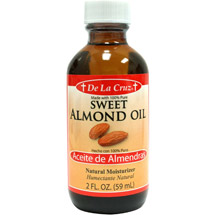 De La Cruz Sweet Almond Oil Natural Moisturizer