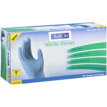 ReliOn Single Use Nitrile Gloves