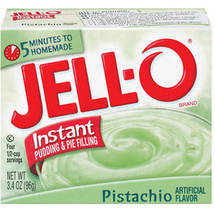 Jell-O Pistachio Instant Pudding & Pie Filling