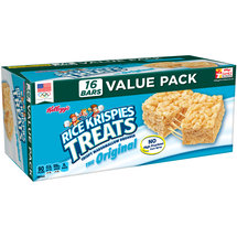 Kellogg's Rice Krispies Treats Crispy Marshmallow Squares 0.78oz 16 ct