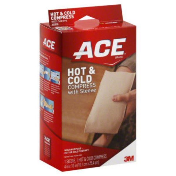 ACE Hot & Cold Compress, with Sleeve