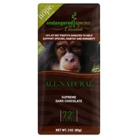 Endangered Species Chocolate Natural Dark Chocolate 72% Cocoa