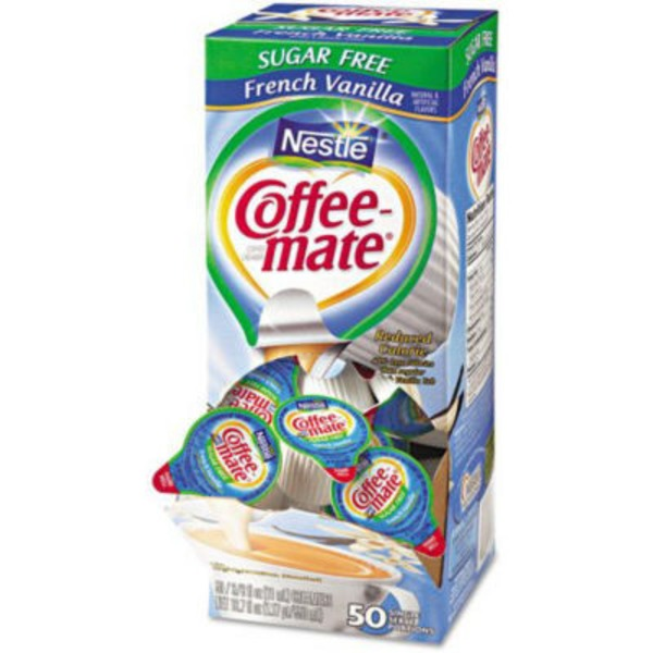 Nestlé Coffee Mate Sugar Free French Vanilla Liquid Coffee Creamer