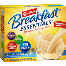 Carnation Instant Breakfast Complete Nutritional Classic French Vanilla Drink