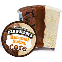Ben & Jerry's Karamel Sutra W/Caramel Core Ice Cream
