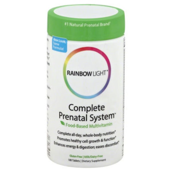 Rainbow Light Complete Prenatal System Tablets - 180 CT