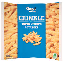 Great Value Crinkle Cut French Fried Potatoes