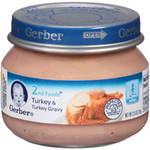 Gerber 2nd Foods Baby Foods Baby Food Turkey & Turkey Gravy