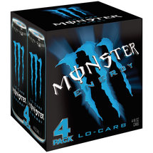 Monster Energy Low Carb Energy Drink 4 Ct/ 64 Fl Oz