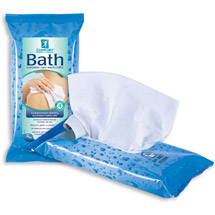 Comfort Bath Cleansing Washcloths - Ultra Thick Disposable 8 X 8 Premoistened Washcloths