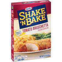 Kraft Shake n Bake Tomato Bruschetta Seasoned Coating Mix