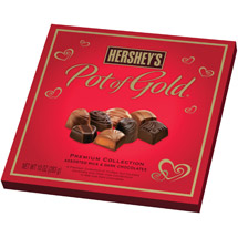 Hershey's Pot of Gold Premium Collection Assorted Milk and Dark Chocolates