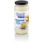 Great Value: Classic Alfredo Pasta Sauce