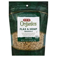 H-E-B Organics Flax And Hemp Granola
