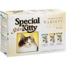 Special Kitty Select Gourmet Variety Pouches Cat Food