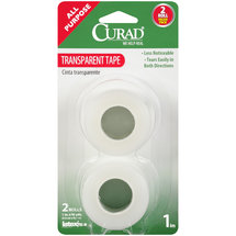 Curad Transparent Tape Rolls