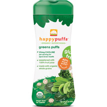 Happy Baby Happy Puffs Organic Greens Puffs