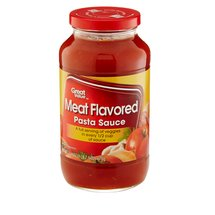 Great Value Meat Flavored Pasta Sauce