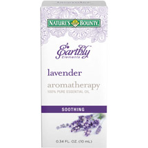 Nature's Bounty Earthly Elements Aromatherapy Lavender 100% Pure Essential Oil
